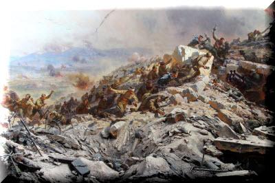 Диорама «Штурм Сапун-горы 7 мая 1944 г.» фото