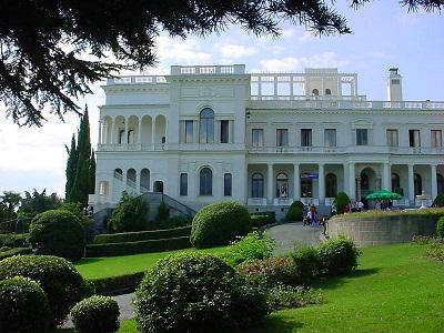 Ливадийский парк и дворец