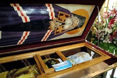 Мощи Святого Луки Крымского
