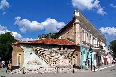 Дом-музей Грина - памятка выдающемуся писателю в Феодосии
