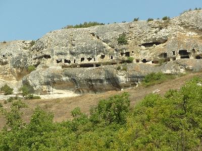 Пещерный город Ески-Кермен фото 1