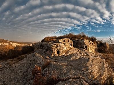 Пещерный город Эски-Кермен фото 3