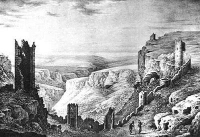 пещерный город Мангуп-Кале - старые фото