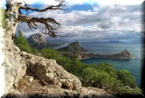 Ботанический заказник Новый Свет в Крыму