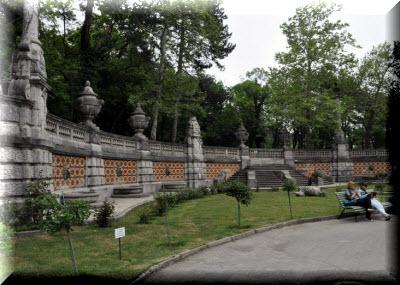 Массандровский парк в Ялте фото