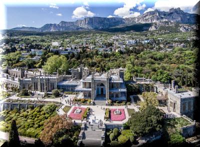 алупка красивые фото города