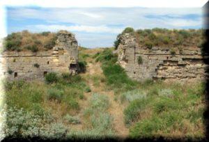 арабатская крепость фото