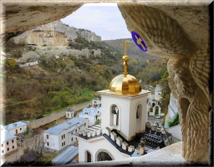 бахчисарай свято-успенский пещерный монастырь