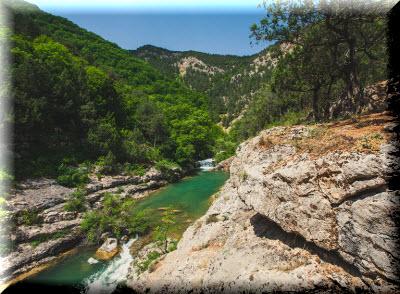 чернореченский каньон как добраться