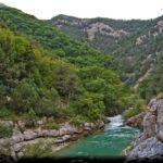 чернореченский каньон крыма