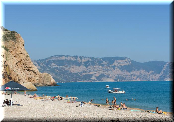 дикие пляжи балаклавы