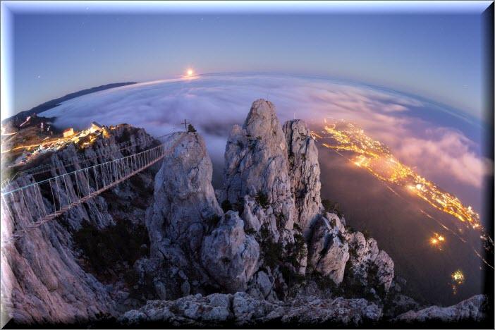 крым гора ай петри