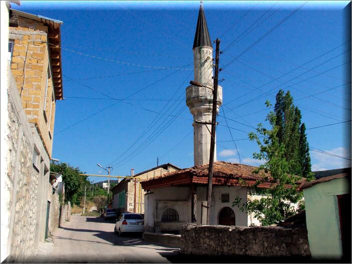 мечеть тахталы-джами бахчисарай