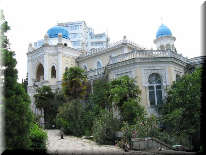 ялта дворец эмира бухарского