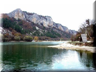 девичье озеро крым