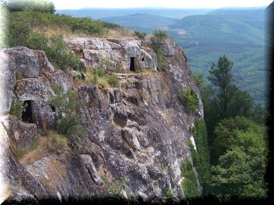 кыз-кермен пещерный город крым