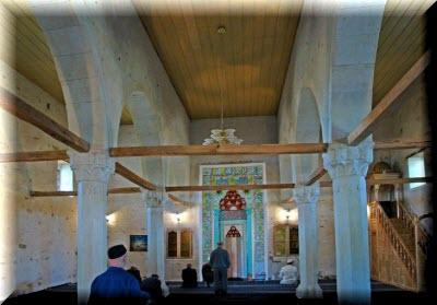 мечеть хана узбека фото внутри
