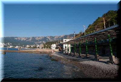 отель хеппи в ялте пляж