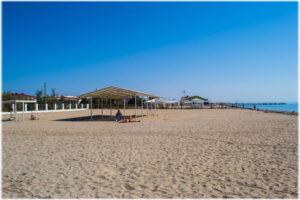 отели Евпатории с пляжем у моря