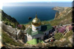 свято георгиевский монастырь на фиоленте