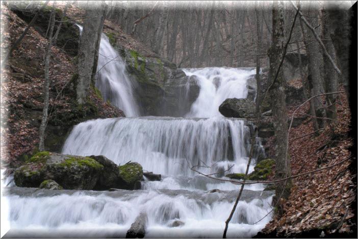 водопад головкинского в крыму