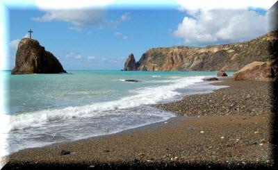 яшмовый пляж мыс фиолент фото