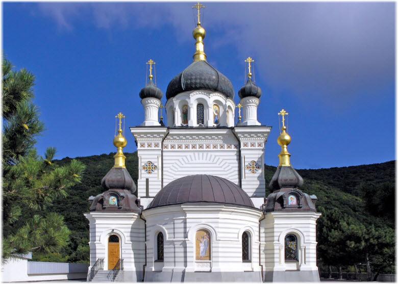 фасад Храма Воскресения