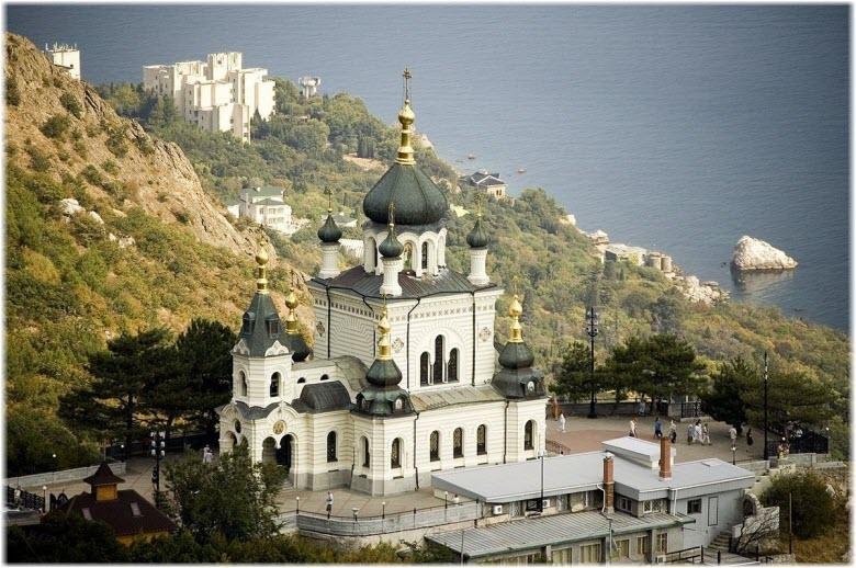 фото Форосской церкви