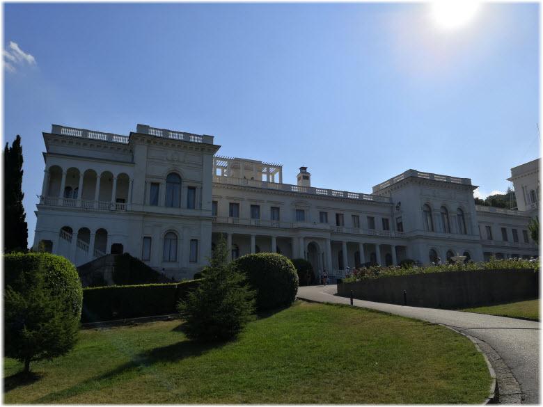 фото Ливадийского дворца сегодня