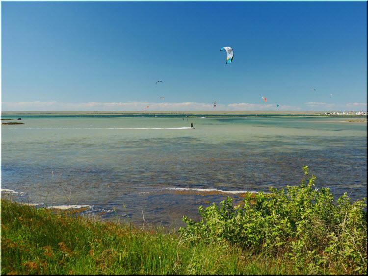 кайтинг на озере Донузлав