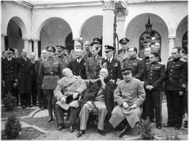 конференция 1945 года в Ливадии