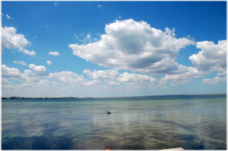 отдых на озере Донузлав