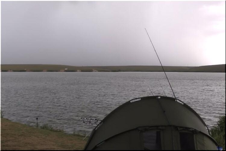 рыбалка на озере Донузлав
