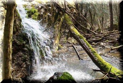 водопад суаткан в крыму фото