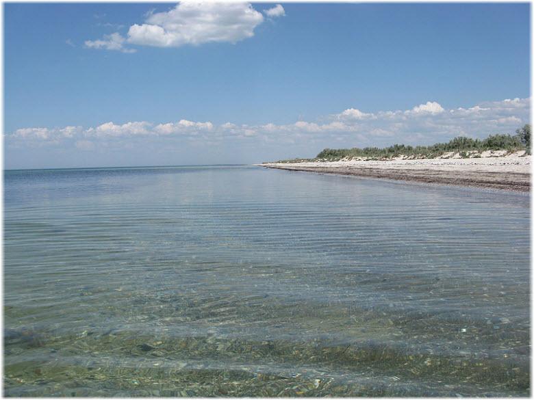 воды озера Донузлав