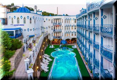 отель 1001 ночь мисхор
