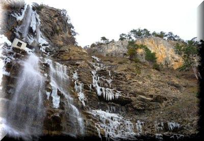 ялта водопад учан су
