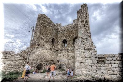 генуэзская крепость в феодосии фото