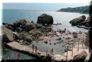 лучшие пляжи алупки