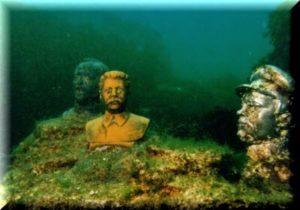 подводный музей аллея вождей