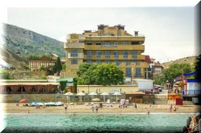 судак гостиницы и отели у моря