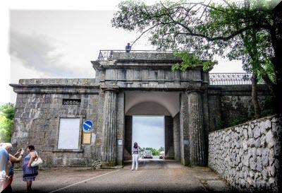 Байдарские ворота на карте крыма