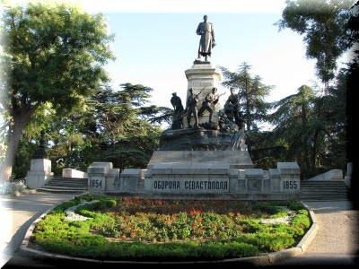 исторический бульвар севастополь фото