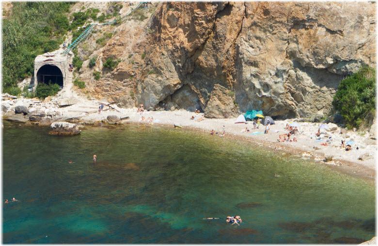 пляж Каравелла