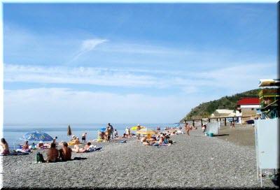 поселок рыбачье крым пляж