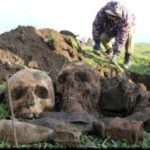 Близ города Армянск найдено захоронение солдат времен ВОВ