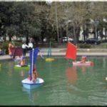 Детский морской центр Ялты отметил 35-летие запуском флотилии «Пчелок»