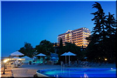 отель ривьера санрайз алушта крым