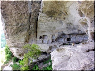 пещерный монастырь качи кальон