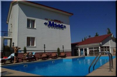севастополь отель мыс казачья бухта